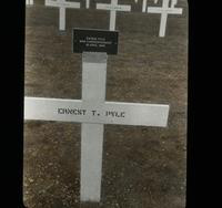 View of the marker indicating where War Correspondent Ernest Pyle Died