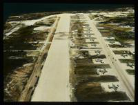 Aerial View of an Air Base