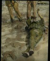View of a Dead Soldier in the Mud
