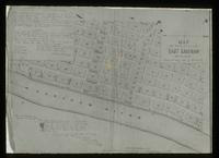 View of a Map of the City of East Saginaw, Michigan, 1850