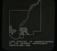 View of the Land Donated to Manufacturers by the Saginaw Improvement Association - 1892