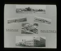 View of Industries located in Saginaw, Michigan