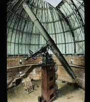 View of a Telescope at Yerkes Observatory, Lake Geneva, Wisconsin