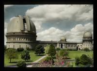 View of the Exterior of Yerkes Observatory, Lake Geneva, Wisconsin