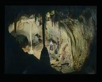 View of Two Women at Carlsbad Caverns