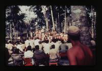 View of a Show for Soldiers Featuring Actor Gary Cooper