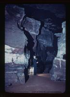View of a Tour Guide at Mammoth Caves, Kentucky