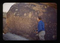 View of Dennis Cooper Near Ancient Petroglyphs