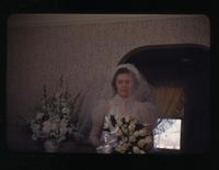 View of Noreen Cooper on Her Wedding Day