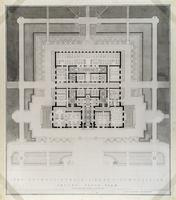 The Detroit Public Library Competition: Ground Floor Plan