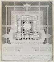 The Detroit Public Library Competition: Main Floor Plan
