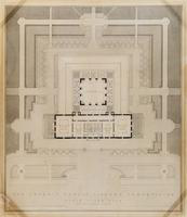 Detroit Public Library Competition: Attic Floor Plan