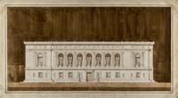 Detroit Public Library: Front Elevation