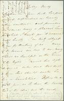 Letter of thanks for poetry book from Florence Nightingale to T.G. Appleton