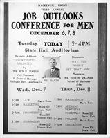 Job Outlooks Conference for Men.