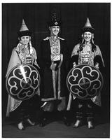 May 1939 Tartar Prince & Princesses who led University Band (Prince is Harold Morrow).