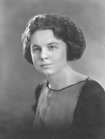 Portrait of Vivian Jones (Dunham), now of Univ. of Wyoming.