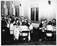Sigma Sigma's Alumni Dinner, April 20, 1951.