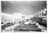 Base Hosp. #17, Largest. Ward - Hospital at Dijon. This was formerly a riding ring.