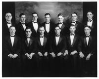 Portrait of the 1923-24 Men's Glee Club.