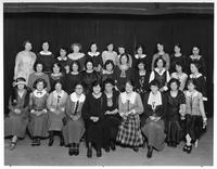 Women's Glee Club - C.C.D. About 1926. Louise Conklin bottom row 6th from left.