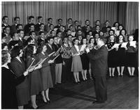 A combined men's and women's choir.