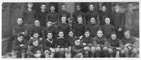 A football team (probably Central High) portrait circa 1910.