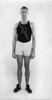 Captain Ed. Spence. Set new National Collegiate Records in 220-yard Low Hurdles two consecutive years: 1926 - 23.5 seconds, 1927 - 23.4 seconds. Set new State Record 1927 - 23.1 seconds. Member of winning 1-Mile relay Team at Penn relays in 1928.
