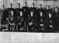 College of the City of Detroit Varsity basketball 1929-1930. Won 12, lost 6.