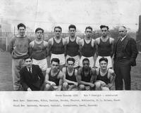 Cross Country 1932. Won 7 straight, undefeated.
