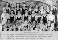 1938 Freshman Swimming Team.