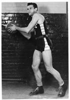 1939-1940 Basketball, #5 Don Roble. Sophomore.