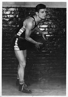 1939-1940 Basketball, unnamed player.
