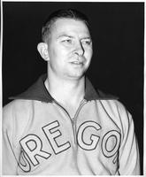 1939-1940 Basketball, Howard A. Hobson, Basketball Coach at the University of Oregon.