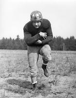 Football player Frank J. Chorney, Co-Captain, either 1941 or 1944.