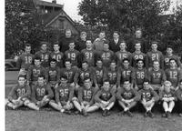 Portrait of 1940 Football Team.