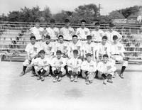 Portrait of 1941 Baseball Team.
