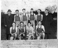 1941 Cross Country Team. This team was the fastest ever to represent Wayne University.