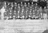 1941 Football Team portrait.