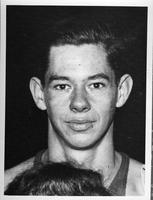 Portrait of Gould, Regular Forward, Freshman.