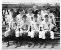 A portrait of the Baseball team.