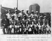Portrait of 1945 baseball team.