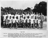 1949 track team portrait.