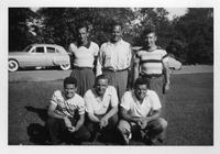 1949 Golf Team portrait.