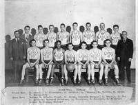 Portrait basketball 1945-1946.