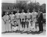 Portrait 1945 Tennis team.