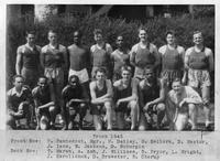 Portrait 1945 Track team.