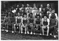 Track team portrait 1946.