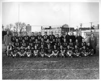 1960 Football team portrait.