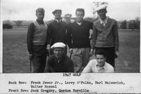 The 1947 Golf Team.